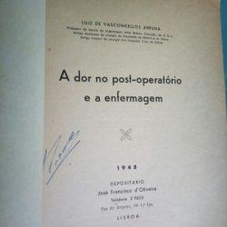 A dor no post-operatório e a enfermagem - Luiz de Vasconcellos Arruda