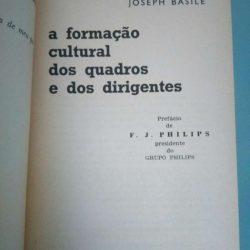 A formação cultural dos quadros e dos dirigentes - Joseph Basile