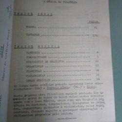 A música na filatelia - J. Pires dos Santos