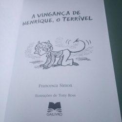 o terrível - Francesca Simon