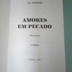 Amores em pecado - M. C. Barreiros