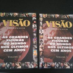 As grandes figuras do mundo nos últimos 100 anos (2 volumes) - Visão -