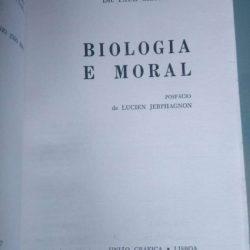 Biologia e moral - Paul Chauchard