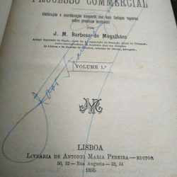 Código Completo do Processo Comercial - Barbosa de Magalhães (1895-97) -