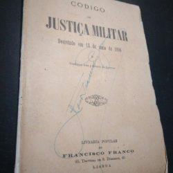 Código de Justiça Militar (Decretado em 13 de maio de 1896) -