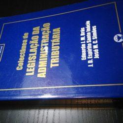 Colectânea de Legislação da Administração Tributária - Eduardo J. M. Brás / J. D. Espírito Santo Inácio / José M. C. Simões