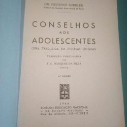 Conselhos aos adolescentes - Dr. Georges Surbled
