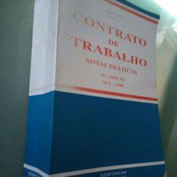 Contrato de Trabalho (Notas práticas - Setembro 98) - Abílio Neto