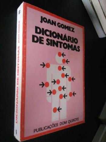 Dicionário de sintomas - Joan Gomez