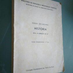 Ensino Secundário - História - A/14 - A geração de 70 -