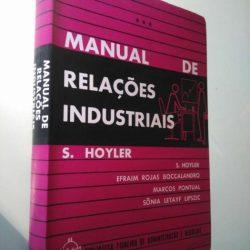 Manual de relações industriais - S. Hoyler