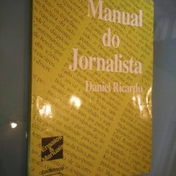 Manual do jornalista - Daniel Ricardo