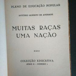 Muitas raças Uma nação - António Alberto de Andrade