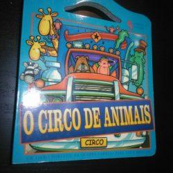 O circo de animais (sem peças de puzzle) -