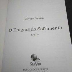 O enigma do sofrimento - Georges Stéveny