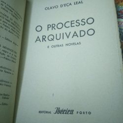 O processo arquivado - Olavo D'Eça Leal