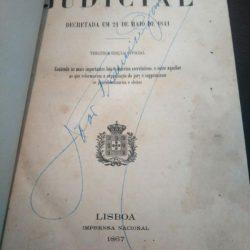 Reforma Judicial decretada em 21 de Maio de 1841(3.a ed. Official 1867 -