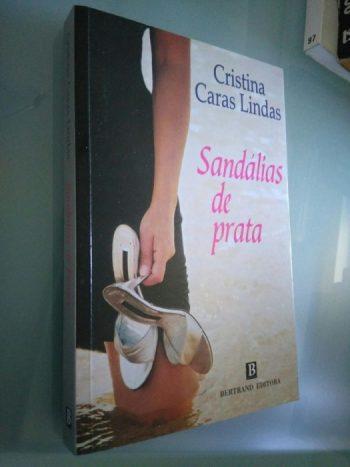 Sandálias de prata - Cristina Caras Lindas