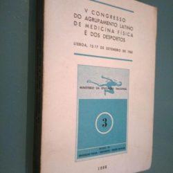 V Congresso do Agrupamento Latino de Medicina Física e dos Desportos -