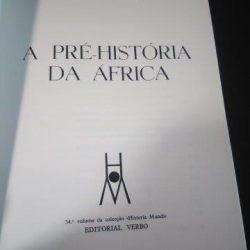 A Pré-História da África - J. Desmond Clark