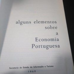 Alguns elementos sobre a economia portuguesa (1969) -