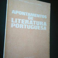 Apontamentos de literatura portuguesa - Maria Leonor Carvalhão Buescu