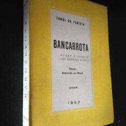 Bancarrota - Tomás da Fonseca