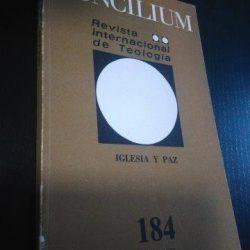 Concilium - Revista Internacional de Teologia n.º 184 -