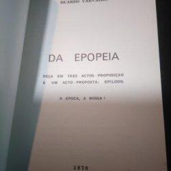 Da epopeia - Duardo Carvalho