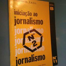 Iniciação ao jornalismo - Silva Araújo