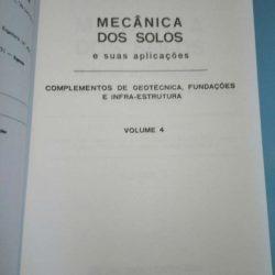 Mecânica dos solos e suas aplicações (volume 4) - Homero Pinto Caputo