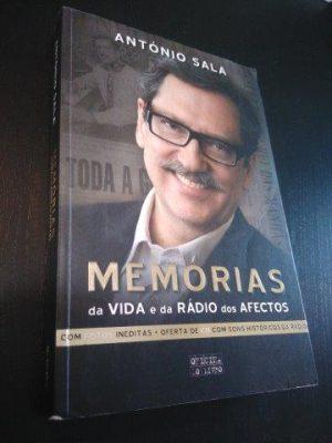 Memórias da vida e da rádio dos afectos (inclui CD) - António Sala