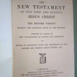 New Testament - Cambridge 1912 -