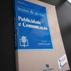 Publicidade e comunicação - António Silva Gomes