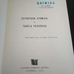 Química - Estrutura atómica e tabela periódica - Maria Helena Côncio da Fonseca de Silva Sousa