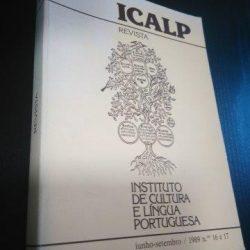 Revista ICALP - Instituto de Cultura e Língua Portuguesa (Junho-Setembro / 1989