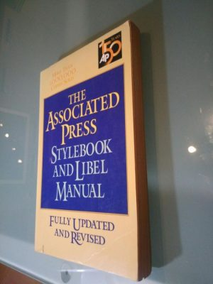 The associated press stylebook and libel manual - Norm Golstein