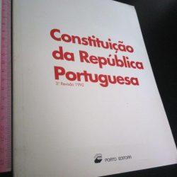 Constituição da República Portuguesa (3.ª Revisão 1992) -