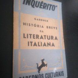 História breve da literatura italiana - Gardner