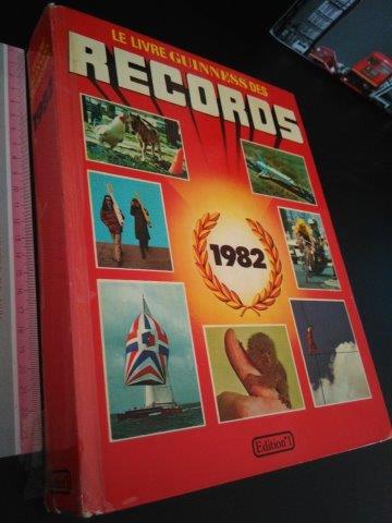 le livre guinness des records 1982 esconderijo dos livros. Black Bedroom Furniture Sets. Home Design Ideas