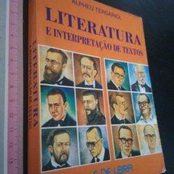 Literatura e interpretação de textos - Alpheu Tersariol