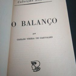 O balanço - Carlos Vieira de Carvalho