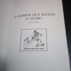 O homem que matou o diabo - Aquilino Ribeiro