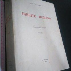 Direito Romano (I - Introdução. Fontes) - Sebastião Cruz