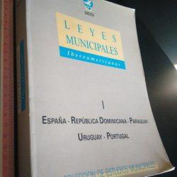 Leyes Municipales Iberoamericanas (España - República Dominicana - Paraguay - Uruguay - Portugal) -