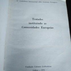 Tratados instituindo as Comunidades Europeias -
