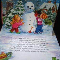 O sorriso do boneco de neve -