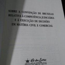 Convenção de Bruxelas de 1968 - Eduardo dos Santos