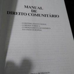 Manual de Direito Comunitário - João Mota de Campos