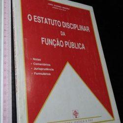 O Estatuto Disciplinar da Função Pública - João Soares Ribeiro